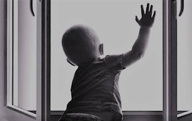 ребенок, антимоскитная сетка