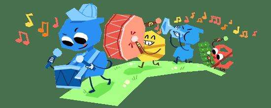 google doodle день детей