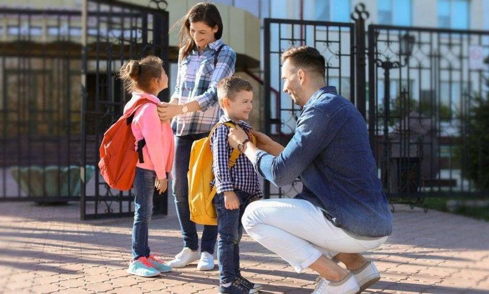 дитина в школу батьки